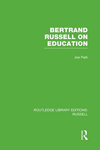Bertrand Russell On Education (Routledge Library Editions: Russell)