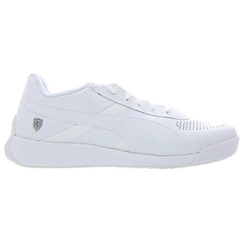 Puma Podio TD SF Cuir Baskets White-White