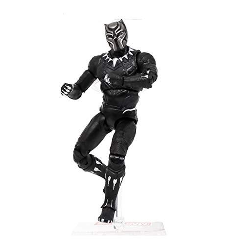 SSRS Avengers Spider-Man Venom Black Panther Hände Büro Spielzeug Modell Dekorationen Superhelden Kinderspielzeug (Farbe : A) (Lego Spider Man Black)