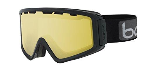 bollé Skibrille Z5 OTG Shiny Black/Lemon Gun, 21501