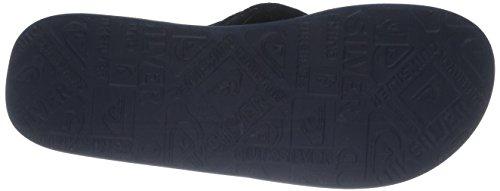 Quiksilver Haleiwa Jungen Zehentrenner Schwarz - Noir (Black/Black/Blue)