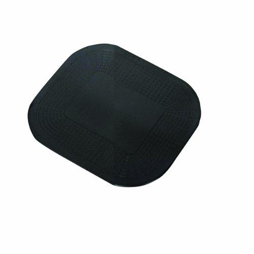 "Dycem 50-1590BLK Non-Slip Rectangular Pad, 7-1/4"" x 10"", Black"