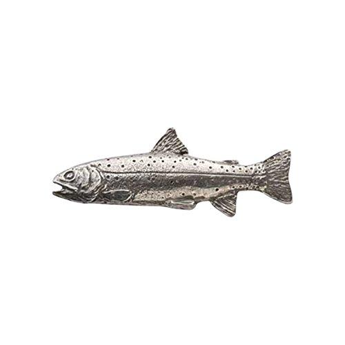 Zinn ~ Cutthroat-Forelle ~ Anstecknadel/Brosche ~ F014 (Cutthroat-forelle)