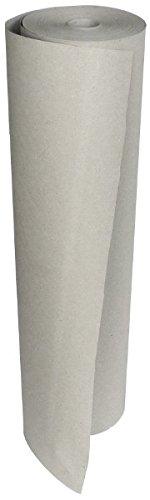 Schrenzpapier, grau, 100 g/m², Rollen 75 cm x 233 lfm., aus 100% recyceltem Altpapier, Rollen-Ø: ≈ 20 cm, Hülsen-Ø: 5 cm - Packhilfsmittel