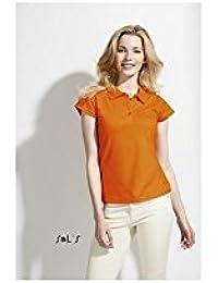 Sol 's–Womens Polo Camiseta Prescott