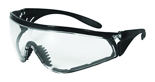 Poblano CLAF Chef Shades/Onion Goggles with Clear Anti-Fog Lenses and Frames, Black by Chef Shades