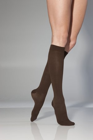 Oberschenkel Hohe Feste Baumwolle, Socken (SIGVARIS Medi Ven für Herren 8–15mmHg Kniehohe Unterstützung Socken)