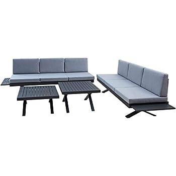greemotion gartenm bel set alu costa rica gartenlounge aus aluminium mit auflagen. Black Bedroom Furniture Sets. Home Design Ideas