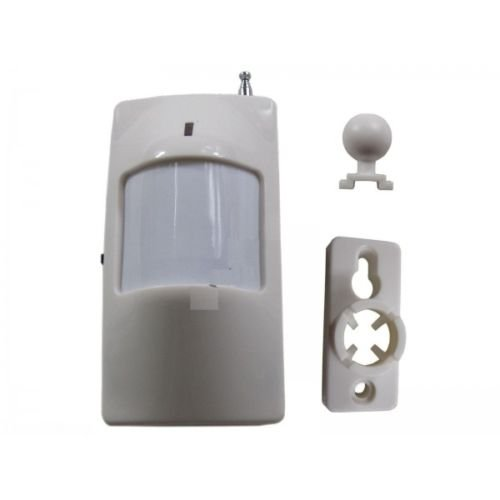 Kit n° 4 sensori di movimento pir volumetrico wireless senza fili allarme