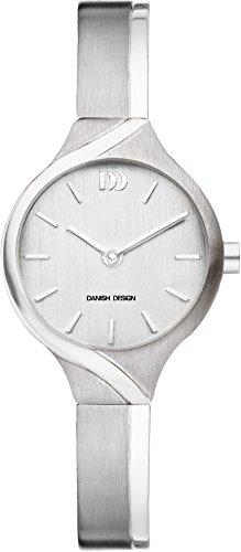 Danish Design Men's Quartz Watch with Silver Dial Analogue Display and Grey Titanium Strap DZ120483