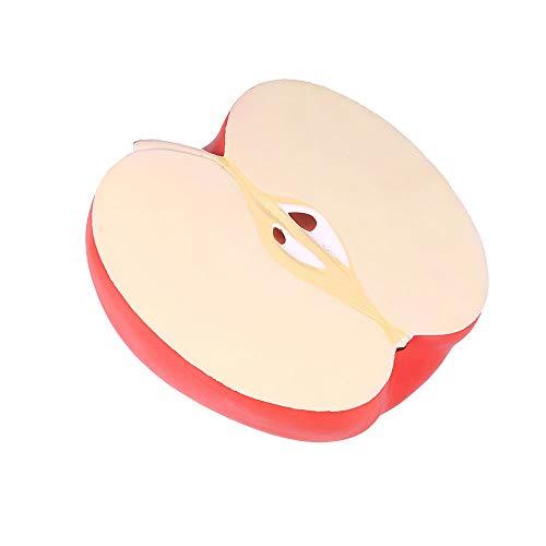 HuaMore Kinder Spielzeug Stressabbau Spielzeug 25cm Riesen Apple duftenden Super Langsam Steigenden Kinder Spielzeug Stressabbau Spielzeug 25cm