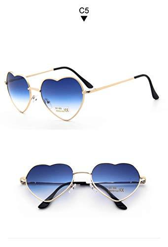 WWVAVA Sonnenbrillen Katzenauge rosa Sonnenbrille Frau Schattierungen weibliche Quadrat Sonnegläser für Frauen oculos Modemarke Sonnenbrille Beschichtung Spiegel, c1