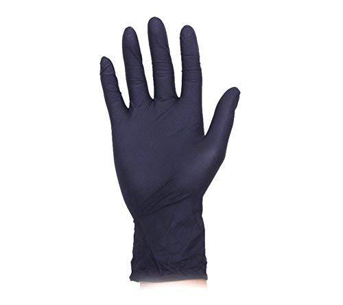 100 Stück Einmalhandschuhe Nitril Untersuchungshandschuhe Puderfrei Handschuhe, Medical Grade,...