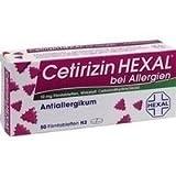 Cetirizin Hexal bei Allergien, 50 St. Filmtabletten