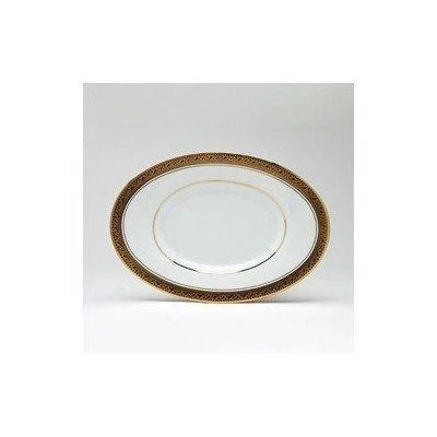 Noritake Crestwood Gold Butter/Relish Tray by Noritake -