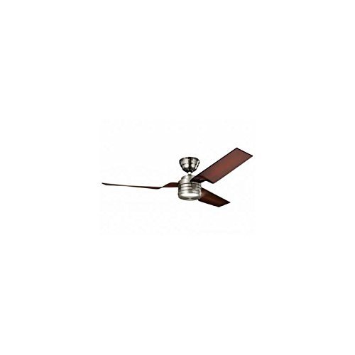 Hunter Flight 33079 - Deckenventilator, 3 Rotorblätter, Nickel matt - Hunter Deckenventilator Light Kits
