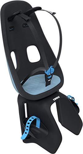 Thule Baby Universalhalterung Aquamarine 2017 Fahrradsitz Nexxt Maxi Fahrradkindersitz, blau, One Size