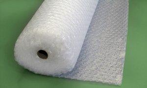 Luftpolsterfolie Gewächshausfolie Isolierfolie Noppenfolie 2,0 x 25 m Rolle UV-stabilisiert, mit 30 mm Noppen