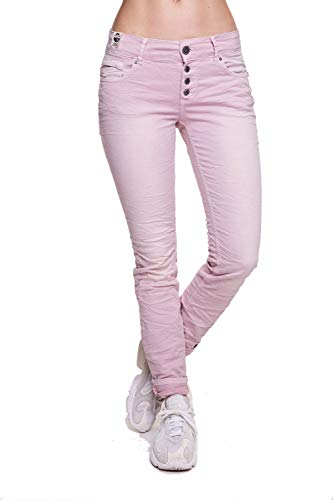 Coccara Damen Jeans Hose Curly New Women's Denim CN116706, Cn677 - Rose, 26 - Womens Vintage Rose