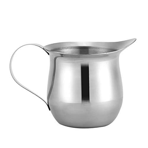 Hatime Kitchen 90/240ml Multipurpose Stainless Steel Milk Frothing Pitcher Cup Latte Art Kitchen Jugs Mug(90ml/3oz) (90ml / 3oz)
