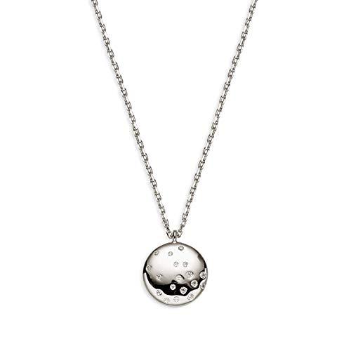 Xenox Damen-Halskette FLASH aus 925er Sterlingsilber und Zirkonia (silberfarben)