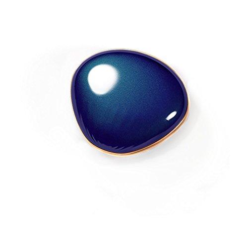 Make-up-bank (Viilere Handwärmer,USB Wiederaufladbare 4000mAh Powerbank Taschenwärmer ,Tragbare Heizung Power Bank Makeup Spiegel (Blau))