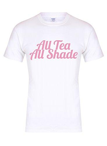 all-tea-all-shade-unisex-fit-t-shirt-fun-slogan-tee-medium-chest-38-40-inches-white-pink