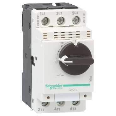 Schneider Electric GV2L08 TeSys GV2 Disyuntor Magnético, 4 A, Conexión por Tornillo