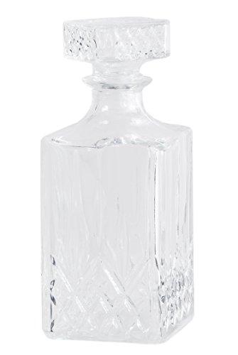 Whisky-Karaffe Cognac-Karaffe Wein-Karaffe - Likörkaraffe - Bleikristall-Karaffe mit Deckel