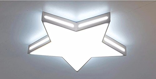 LighSCH Deckenleuchten Modernes minimalistisches Kinder Zimmer romantische Boys Girls Sea Star dimmbar Durchmesser 42cm Schlafzimmer Lampe Lampen LED