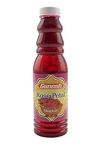 Ganesh Rose Petal Sharbat (700 ml)