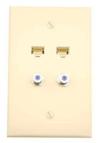 leviton-5ea20-m4a-quickplate-2-data-port-and-2-f-connectors-almond
