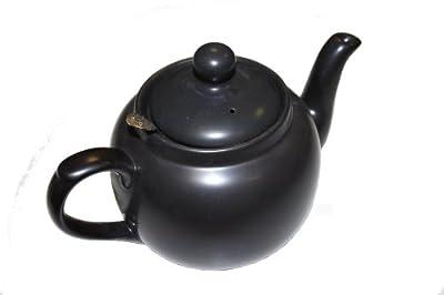 Dexam London Pottery Théière avec filtre 4 tasses Noir