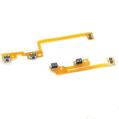 Neue Linke & Rechte Schulter Trigger Taste Flex Kabel für Nintendo New 3DS 3DS XL LL (2015Version) Reparieren Teil L/R Schleife.