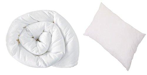 Anti Allergy - 4.5 Tog 120cm x 150cm Junior/Toddler Cot Bed Duvet And Pillow Set