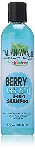 Taliah Waajid - Berry Clean Shampoing 3 en 1 Kinky