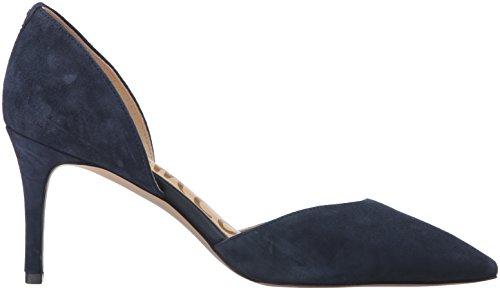 Sam Edelman Telsa, Scarpe con Tacco Donna Blu (Inky Navy Suede)
