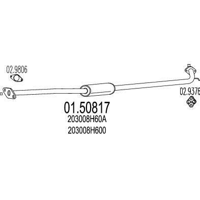 MTS 01.50817 composante