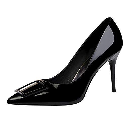 Damen Stiletto High Heel Plattform Party Arbeit Abend Party Prom Hochzeit Braut Gericht Schuhe - Vorteil Karamell