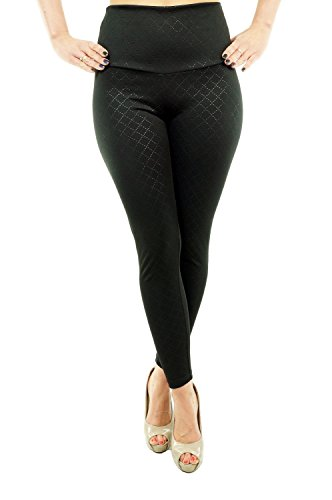 berryr-sexy-london-look-leggings-mit-latex-taschen-superstretch-rautenmuster-hohe-taille-hufthoch-st