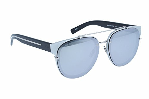 Christian Dior BLACKTIE143SA DC 02S, Montures de Lunettes Homme, Noir (Silver Black/Extra White ml), 56