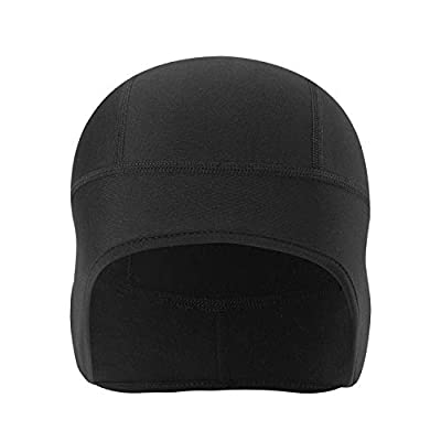 TAGVO Winter Thermal Skull Cap, Cycling Running Beanie Hat with Ear Cover, Motorcycle Windproof Elastic Beanie Helmet Liner for Adults Men and Women- Universal Size by TAGVO