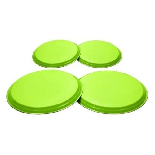 31KOM72JBoL. SS500  - Lime Green 4 Piece Hob Covers Made By High Quality Stainless Steel Material