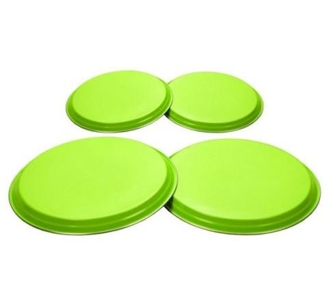 Lime Grün 4Stück Herdabdeckplatten hergestellt von hochwertigem Edelstahl Material