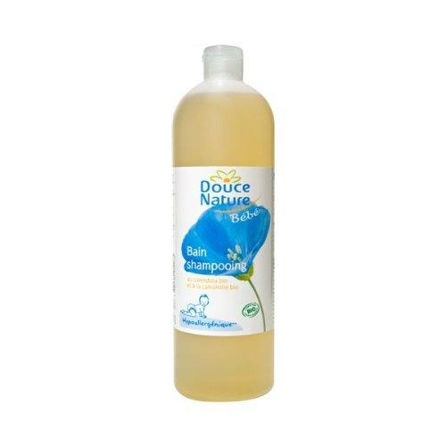 Douce Nature - PRI 5203 - Hygiène Bébé - Bain Shampoing Bébé Cosmébio - 1 l