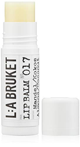 L:a Bruket No.17 Lip Balm ,Almond / Coconut,  1er Pack (1 x 17 ml)