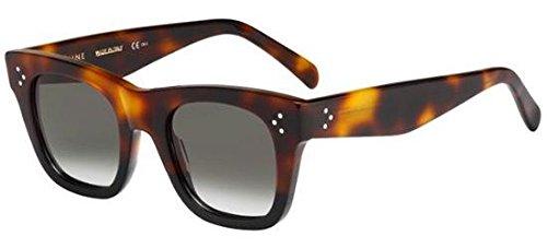 919f5a52922 Celine 41089 S AEA Tortoise Catherine Small Square Sunglasses Lens ...