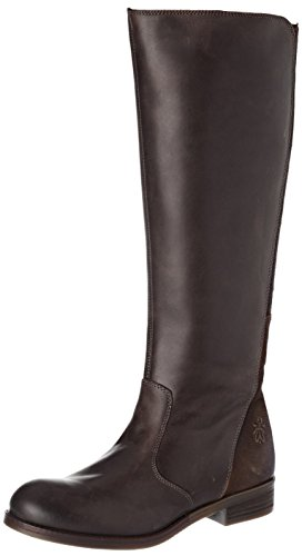 FLY London Damen Axil078fly Reitstiefel Braun (Dk. Brown/chocolate)