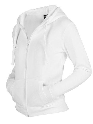 Urban Classics Dames Zip Hoodie TB079-1 white.