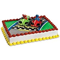 Sesame Street Elmo and Cookie Monster Racers - Cake Toppers by Sesame Street - Sesame Street Topper